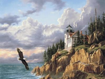 Bass Harbor Head Lighthouse by Rudi Reichardt