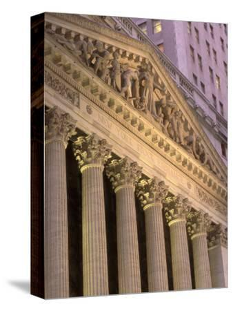 Architectural Detail of Stock Exchange, NYC