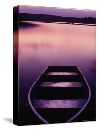 Boat on Otter Lake, Poconos, PA