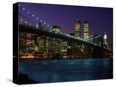 Brooklyn Bridge and Lower Manhattan, NY