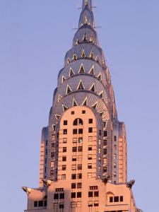 Chrysler Building at Dusk, New York City by Rudi Von Briel