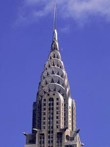 Chrysler Building, Upper Tiers, Ny by Rudi Von Briel