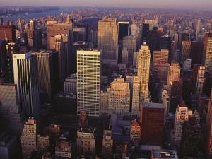 Midtown and Upper Manhattan, NY by Rudi Von Briel