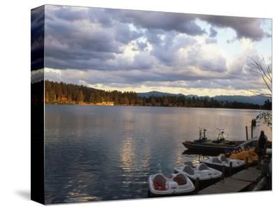 Mirror Lake, Lake Placid, Adirondacks