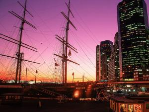 Peking Ship at South Street Seaport, NY by Rudi Von Briel