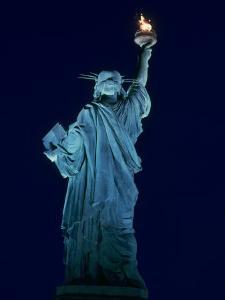 Statue of Liberty, NYC by Rudi Von Briel