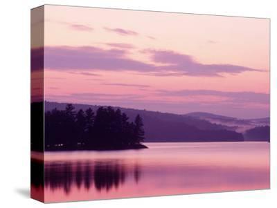 Sunset, Adirondack Lake, NY