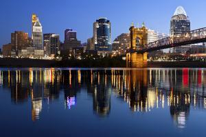 Cincinnati Skyline. by rudi1976