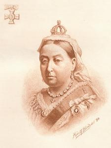 Her Majesty the Queen, Empress of India, 1884 by Rudolf Blind