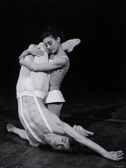 Rudolf Nureyev and Margot Fonteyn in Paradise Lost, England-Anthony Crickmay-Photographic Print