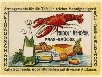 Rudolf Rehorik Wine Bar--Giclee Print