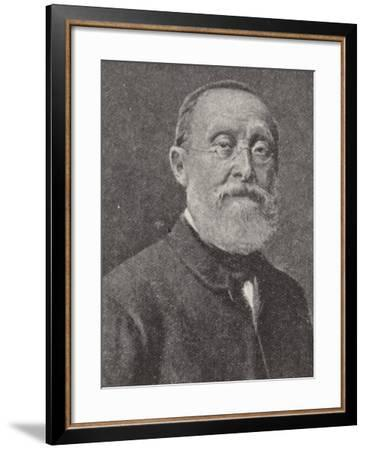 Rudolf Virchow, German Doctor and Anthropologist--Framed Photographic Print