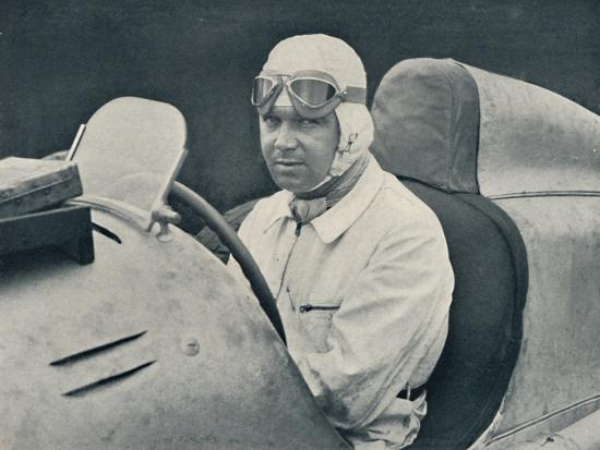 'Rudolph Caracciola', c1935, (1937)-Unknown-Photographic Print