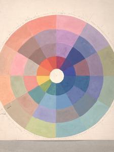 Rudolph Schaeffer, Color Wheel; Archive of American Art