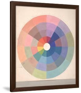 Rudolph Schaeffer, Color Wheel; Archive of American Art