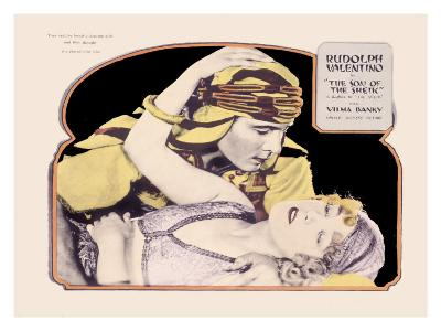 Rudolph Valentino, Son of the Sheik--Giclee Print