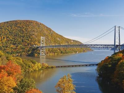 Bear Mountain Bridge spanning the Hudson River