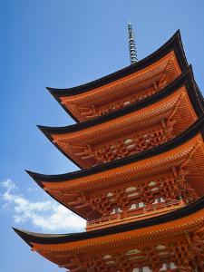 Pagoda at Itsukushima Jinja Shrine by Rudy Sulgan