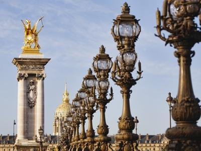Pont Alexandre-III and Dome des Invalides