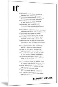 If You Can by Rudyard Kipling