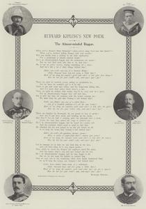 Rudyard Kipling's New Poem, the Absent-Minded Beggar