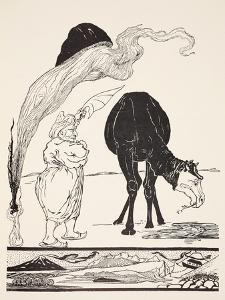 The Djinn in Charge of All Deserts Guiding the Magic with His Magic Fan by Rudyard Kipling
