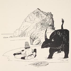 The Parsee Beginning to Eat His Cake on the Uninhabited Island by Rudyard Kipling