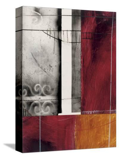 Rue Bourbon-Seth Romero-Stretched Canvas Print