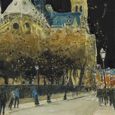 Rue de Cloitre Notre Dame, Paris-Susan Brown-Giclee Print