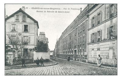 Rue de Fontenay--Art Print