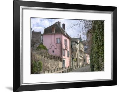Rue de L'Abreuvoir I-Cora Niele-Framed Giclee Print
