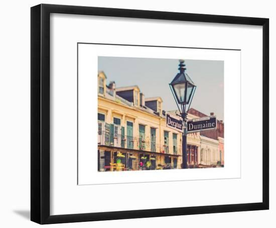 Rue de la Levee-Myan Soffia-Framed Art Print