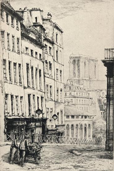 Rue De La Montagne-Ste Genevieve, 1915-Charles Heyman-Giclee Print