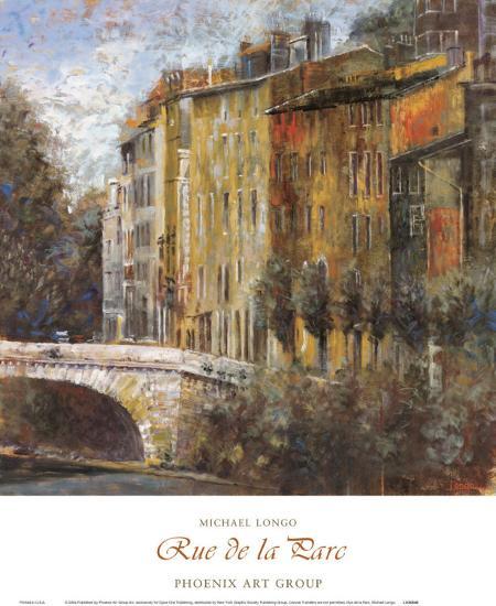 Rue de la Parc-Michael Longo-Art Print