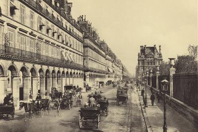 Rue De Rivoli--Photographic Print