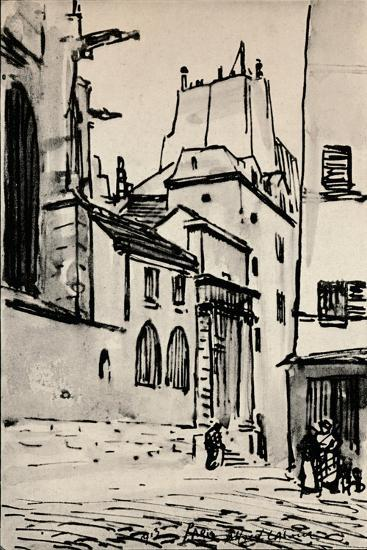 Rue Des Barres, 1915-Alfred Latour-Giclee Print