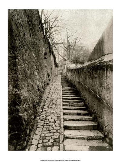 Rue des Eaux, Paris, 1901-Eugene Atget-Art Print