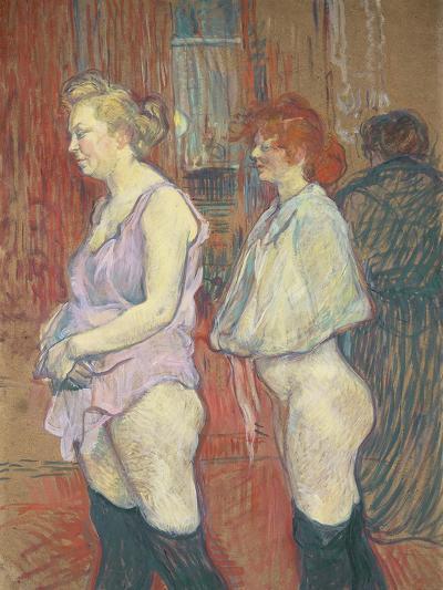 Rue Des Moulins, 1894-Henri de Toulouse-Lautrec-Giclee Print