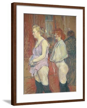 Rue Des Moulins, 1894-Henri de Toulouse-Lautrec-Framed Giclee Print