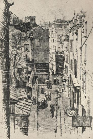 Rue Des Pretres-St Séverin, 1915-Charles Jouas-Giclee Print