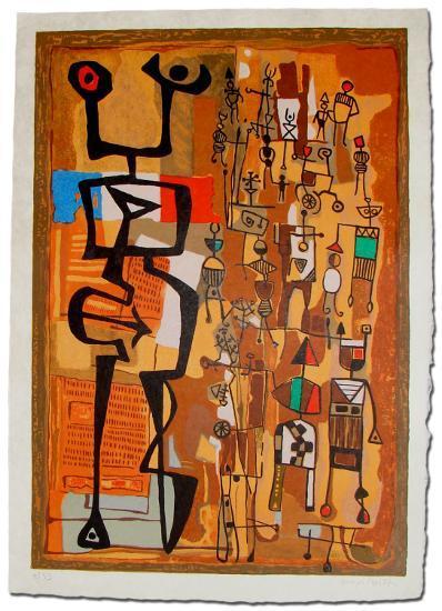 Rue du Marche-Mayeu Passa-Collectable Print