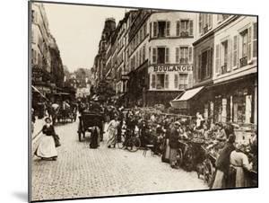 Rue Lepic, Montmartre, Paris, 1880