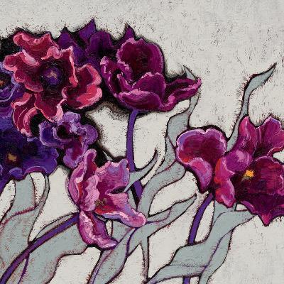 Ruffled Tulips-Shirley Novak-Art Print