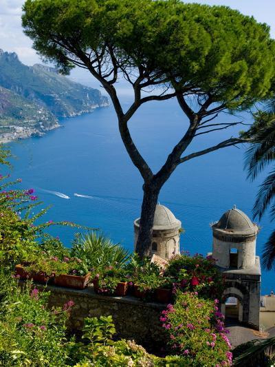 Rufolo View, Ravello, Amalfi Coast, UNESCO World Heritage Site, Campania, Italy, Europe-Charles Bowman-Photographic Print