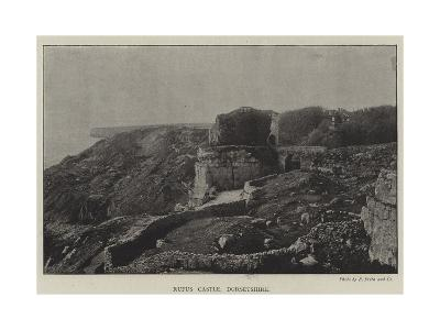 Rufus Castle, Dorsetshire--Giclee Print