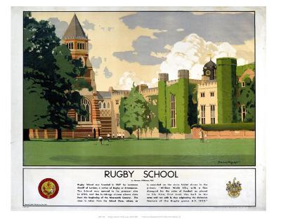 Rugby School--Art Print