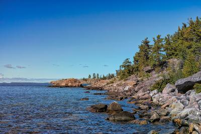 Rugged North Shore of Lake Superior, Ontario, Canada--Photographic Print