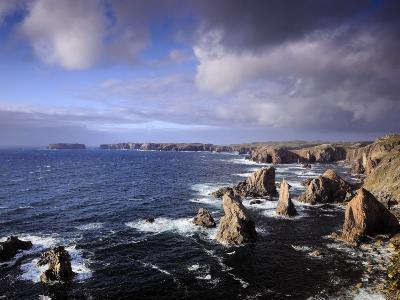 Rugged Sea Stacks of the Isle of Lewis-Jim Richardson-Photographic Print