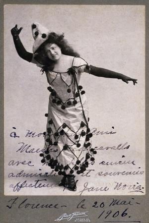Singer Jane Noria in Role of Nedda-Colombina in Opera Pagliacci