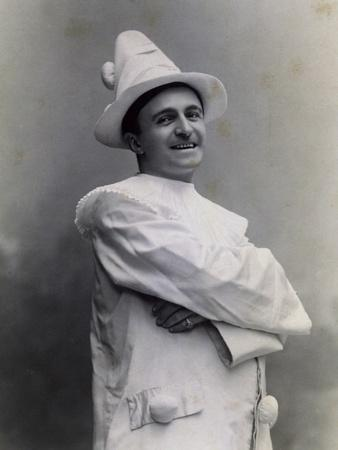 Singer Pietro Corimberti in Performance of Opera Pagliacci